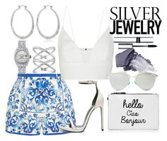 """""""Sweet Silver Jewelry"""" by limbria on Polyvore"""