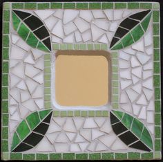 Four Leaves by Megan Cain Mosaics, via Flickr