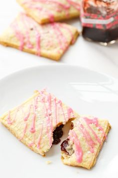 Homemade Strawberry Jam Toaster Pastries from /loveandoliveoil/