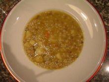 Zuppa Di Cereali E Lenticchie