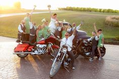 VERY COOL THIS IS MY OWN Wedding!  haha  Biker Themed Wedding // A Better Exposure photography