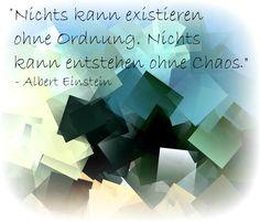 Albert Einstein Zitate Chaos Ordnung Mehr