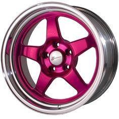Pink Rims on Pinterest | Pink Car Accessories, Pink Bmw ...