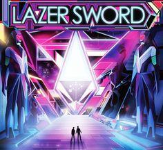 – Lazer Sword Album Artwork