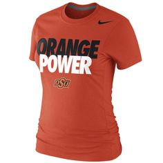 #Valentines #AdoreWe #Fanatics.com - #Nike Oklahoma State Cowboys Nike Women's Local T-Shirt - Orange - AdoreWe.com