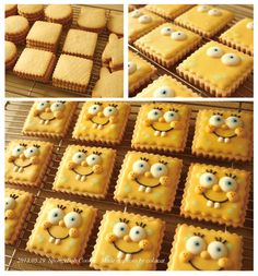 SpongeBob cookie copyright (c) Colacat