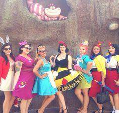 Pin up Alice in Wonderland