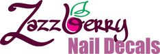 Water Slide Nail Decals / Nail Art designed and printed by South African based company ZazzBerry (Pty) Ltd. Custom nail decals on request. Butterfly Nail, Young Nails, Nail Decals, Water Slides, Online Art, Nail Art Designs, Custom Design, Butterflies, Prints