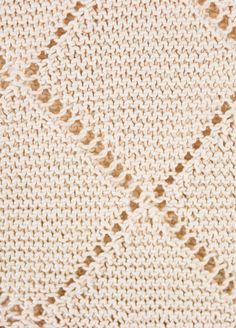 Kit de tejer Algodón Pima Slushies top 2