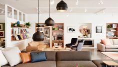 The new Jardan flagship store in Melbourne. Photography by  James Geer. #Jardan #interiors #AustralianDesign #Homewares #shopinteriors #visualmerchandising