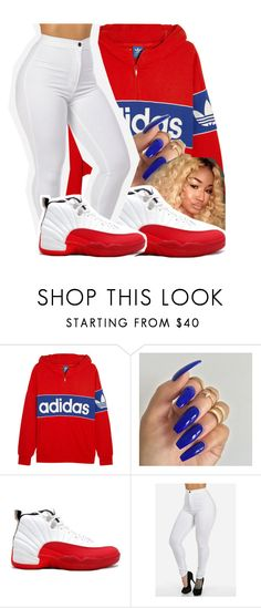 """"" by leshabest ❤ liked on Polyvore featuring adidas Originals"