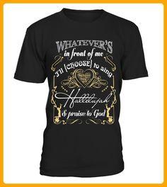 Hallelujah Singer Whatever S In Front Of Me TShirt - Shirts für singles (*Partner-Link)