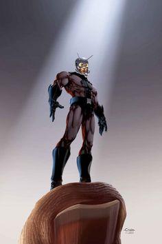 Antman by Clayton Crain *