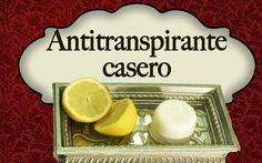 Cómo hacer un antitranspirante casero - Sudoración excesiva