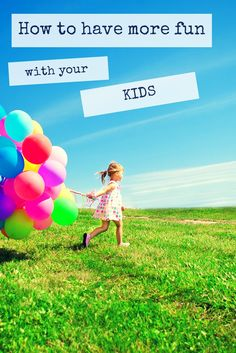 75 free ways to have more fun at home with kids! Super fun ideas that your kids (and you) will love!