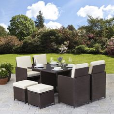 32 best rattan garden furniture sets images on pinterest backyard