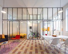 School renovation into Dwellings by Lieven Dejaeghere