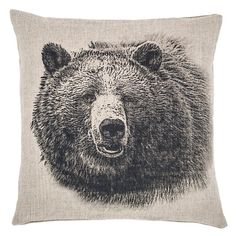 Going for a neutral pallet in your room? This pillow would be too cute!