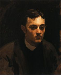 19thcenturyboyfriend:  Portrait of Albert de Belleroche (1882), John Singer Sargent