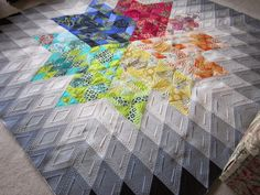 Quilting Is My Bliss: Gravity Quilt - One of My Own