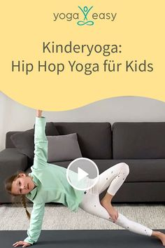 Yoga For Kids, Exercise For Kids, Easy Yoga, Ayurveda Yoga, Mamas And Papas, Qigong, Too Cool For School, Hip Hop, Family Activities