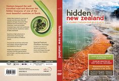 Natural History New Zealand is a New Zealand-based factual television production house creating original content for global broadcasters. NHNZ needed a DVD slick for their collection of New Zealand. The Beautiful Country, Hidden Treasures, New Zealand, Web Design, News, Website Designs, Site Design