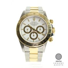#Rolex #Daytona Two Tone Gents Stainless Steel Automatic #Watch