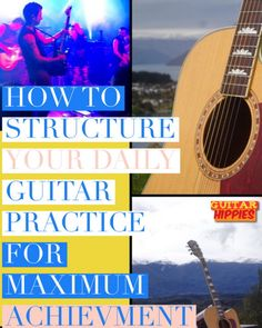 Your guitar practice schedule can make you the guitarist that you want to be! Read here for the BEST tips on how to effectively build your guitar practice schedule