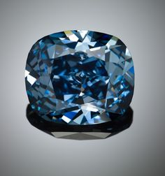 Blue diamonds are among the rarest gems in the world.