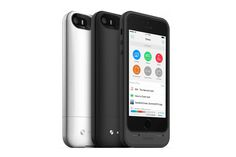 Finally, an iPhone Case That Provides Extra Storage Space. Mophie unveiled the world's first smartphone case with built-in storage for iPhone 5 and Batterie Iphone, 5s Cases, Iphone Cases, Iphone Memory, Photo To Video, Smartphone, Thing 1, Extra Storage Space, Storage Spaces
