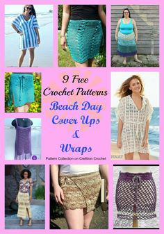 Beach Day Cover Ups Pattern Collection - Cre8tion Crochet