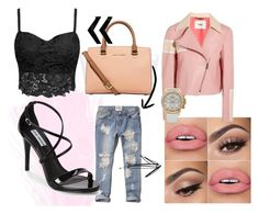 """""""Black and pink"""" by shauna-farrell on Polyvore"""