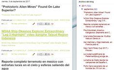 """10.09.17 - Blog """"La Caracola"""" Diario de Información del Mar - Aprocean https://aprocean.blogspot.com.es/"""