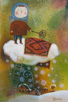© Anna Silivonchik Love children's book  illustration art.