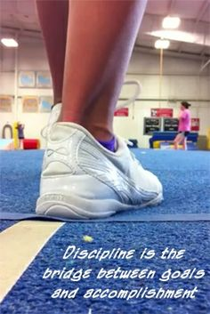 Discipline is that bridge between group and accomplishment. #BeEpic