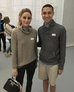When you're walking through the MET and you encounter one of your icons; the one and only Olivia Palermo (@oliviapalermo ). Honored beyond belief.❤️