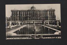 SPAIN MADRID 1950 years ROYAL PALACE real photo postcard ESPAÑA ESPANA