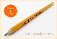 Back To School Ideas--Stock up for Christmas! The Peaceful Mom