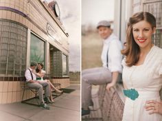 Vintage Themed Engagement || PHOTO SOURCE • AVENTURA PHOTO VIDEO