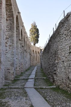 Conegliano walls (TV, Italy) Old Town Italy, Visit Italy, Ancient Ruins, European Countries, Tuscany, Venice, Lion, Photographs, Old Things