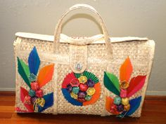 Shop for on Etsy, the place to express your creativity through the buying and selling of handmade and vintage goods. Tropical Vacations, Free Youtube, Cancun, Straw Bag, Diaper Bag, Reusable Tote Bags, Create, Unique Jewelry, Handmade Gifts