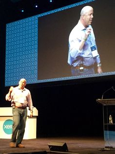 """Bruce Phillips: """"To be successful, start with the people - both clients and staff need to be happy"""" #Xerocon"""