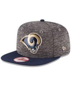 48857b01fff New Era Los Angeles Rams 2016 Nfl Draft 9FIFTY Original Fit Snapback Cap -  Blue Adjustable