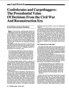 Reconstruction Era Article or Video 2