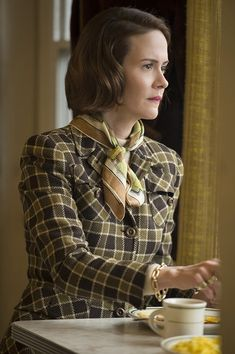 Sarah Paulson On Cate Blanchett, Carol, Coming Out & Jessica Lange Cate Blanchett Carol, Cherry Jones, Sandy Powell, Todd Haynes, New Movies, Costume Design, Actresses, Celebrities, Beauty