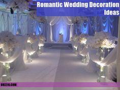 50 Romantic Wedding Decoration Ideas | http://buzz16.com/romantic-wedding-decoration-ideas/