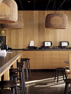 As Hip Group takes Auckland's culinary scene by storm, Interior ventures into one of its latest premises. Bar Restaurant Design, Restaurant Concept, Cafe Restaurant, Kitchen Themes, Kitchen Decor, Kitchen Design, Architecture Restaurant, Modern Cafe, Design Café