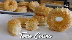 (2) Rosquillas de hojaldre, fáciles y rápidas - YouTube