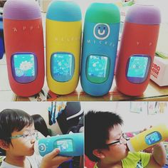 Family Celebration of Hydration!  Meet Yaping Chang - she provided us with a sneak peak into her own family hydration routine, with 4 Gululu bottles, Sansa, Ninji and adorable kids who count every drop ;)   #MyGululu #Hydration #gululu
