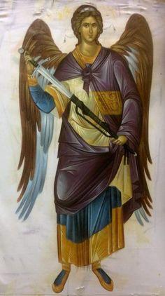 Byzantine Art, Byzantine Icons, Catholic Art, Religious Art, Heart Painting, Angel Pictures, Orthodox Icons, Saints, Antiques